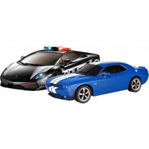 Радиоуправляемый набор Lamborghini vs. Dodge Challenger (1:16, 26см)