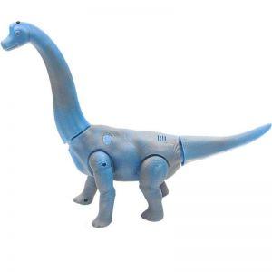Радиоуправляемый Брахиозавр синий (39 см.)