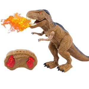 Радиоуправляемый Огнедышащий Динозавр Тираннозавр (30 см)