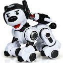 Черный Радиоуправляемая Полицейская собака (25 см.)
