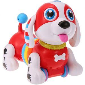 Интерактивная каталка-собачка на пульте управления (24 см.)