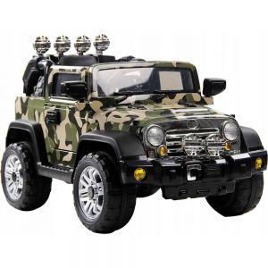 Детский Электромобиль Военный Jeep (1 место, до 40 кг, 115 см)