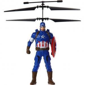 Летающий Капитан Америка (20 cм, управление от руки)