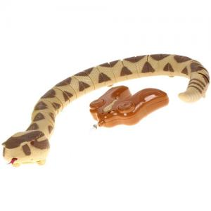 Радиоуправляемая Толстая реалистичная змея (60 см)