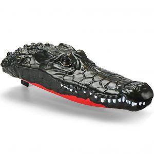 Радиоуправляемая плавающая голова крокодила (2 в 1, 23 см)