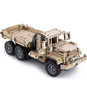 Радиоуправляемый Конструктор Военный грузовик (545 деталей, 38 см.)