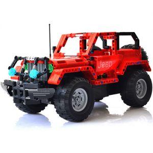 Радиоуправляемый конструктор Jeep (531 деталь, 37 см.)