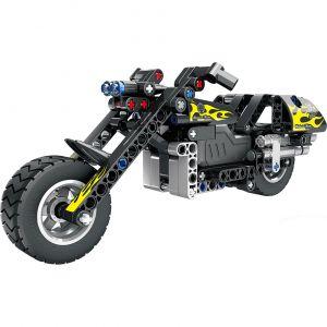 Инерционный Конструктор Мотоцикл Чоппер (183 деталь, 23 см.)