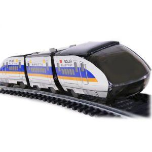 Конструктор Поезд на солнечной батарее (17 см.)