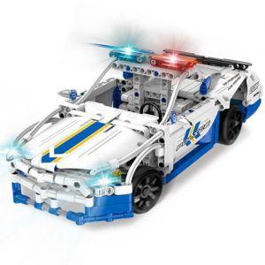 Радиоуправляемый Конструктор Полицейская машина (430 деталь, 30 см.)