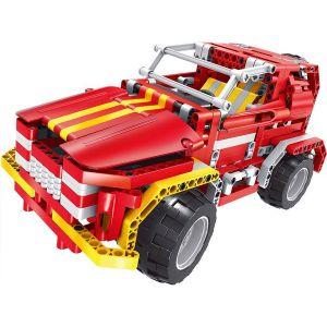 Радиоуправляемый Конструктор Пожарная машина-джип (472 деталей, 29 см.)