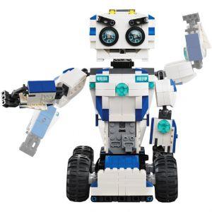 Радиоуправляемы Конструктор Робот DADA 2 в 1 (606 деталей, 28 см.)