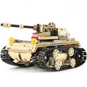 Радиоуправляемый Конструктор Военный Танк (549 деталей, 23 см.)