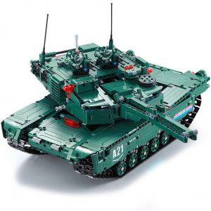 Радиоуправляемый Конструктор Танк 2 в 1 (1498 деталь, 46 см.)