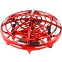 Красный Летающая тарелка с управлением от ладони (11 см)