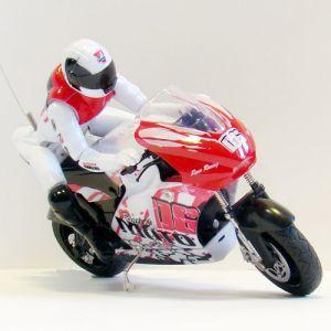 Радиоуправляемый Мотоцикл 1:10 ZC спорт-байк (19 см.)