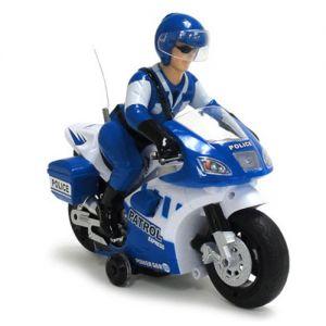 Мотоцикл 1:10 Police Patrol (23 см)