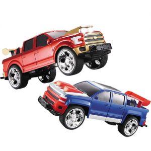 Радиоуправляемая Битва джипов 1:18 Ford F150 vs. Chevrolet Tahoe (23 см.)