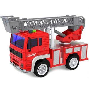 Радиоуправляемая Пожарная автолестница WenYi (1:20, 19 см.)