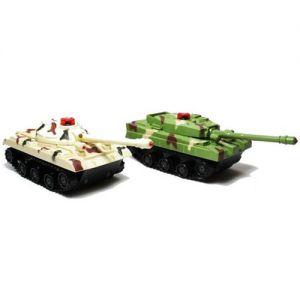 Радиоуправляемый Танковый бой Zhorya (2 танка 14 см, 1:48)