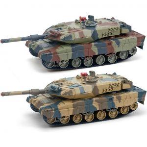 Радиоуправляемый Танковый бой 1:24 Leopard 2A5 vs. Tiger I (2 танка, 33 см)