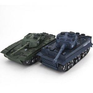 Радиоуправляемый Танковый бой Tiger I и Type 99 (2 танка, 1:32, 28см)