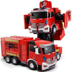 Радиоуправляемый Трансформер Пожарная машина (35 см)