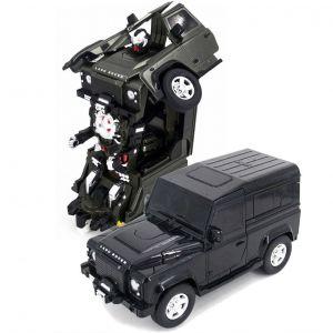 Радиоуправляемый трансформер Land Rover Defender (30 см)