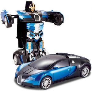Радиоуправляемый Спорткар-трансформер Bugatti Veyron (25 см)