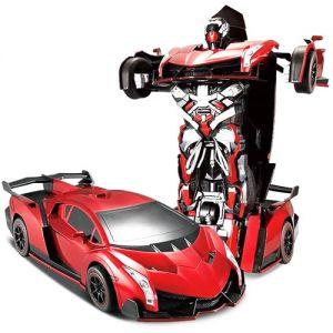 Радиоуправляемый Спорткар-трансформер Lamborghini (25 см)