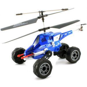 Машина-вертолет стреляет ракетами (26 см)