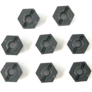 02100 Гайка пластиковая (8 шт) для моделей 1:10 HSP