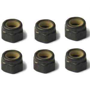 02102 Нейлоновые контргайки (6 шт) для моделей 1:10 HSP