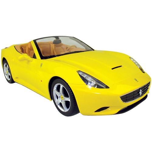 Желтый Радиоуправляемая Ferrari California (1:12, 34 см)