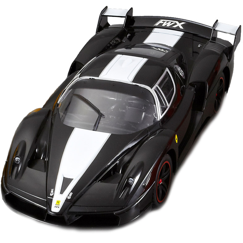 Черный Большая Радиоуправляемая Ferrari FXX (1:10, 45 см)