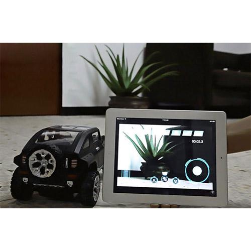 Джип-шпион 1:12 HUMMER с видеокамерой (33 см., управление iOS и Android)