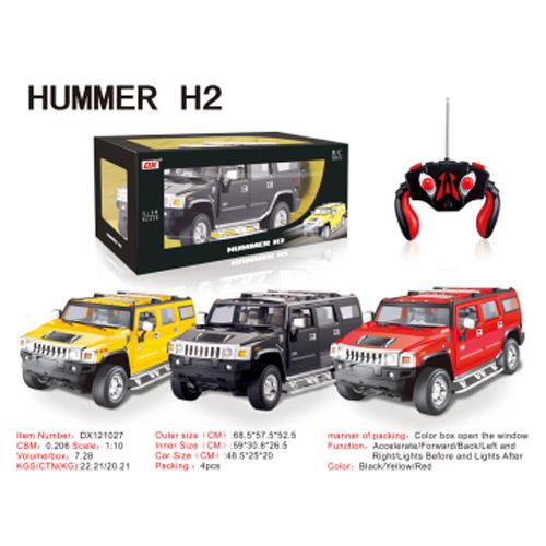 Радиоуправляемый HUMMER H2 (1:10, 50 см) - В интернет-магазине