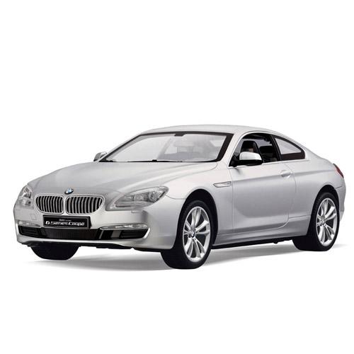 Серебристый Радиоуправляемая BMW 6 coupe (1:14, 35 см)