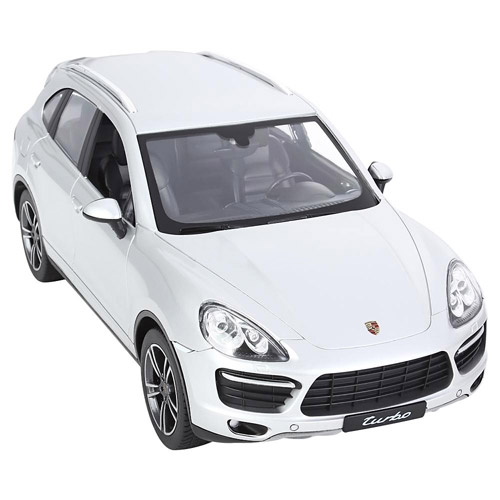 Серебристый Радиоуправляемый Porsche Cayenne Turbo (1:14, 31 см)