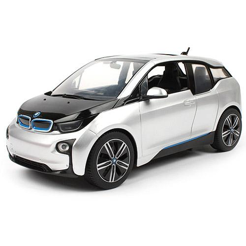Белый Радиоуправляемая BMW i3 (1:14, 28 см)