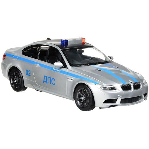 Радиоуправляемая Полицейская BMW M3 ДПС  (работующая сирена, 1:14, 33 см)