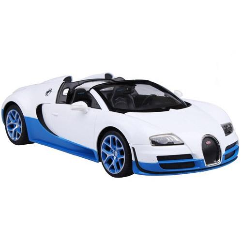 Белый Радиоуправляемая Bugatti Veyron Grand Sport Vitesse кабриолет (1:14, 32 см)