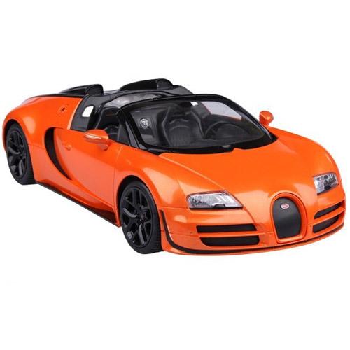 Оранжевый Радиоуправляемая Bugatti Veyron Grand Sport Vitesse кабриолет (1:14, 32 см)