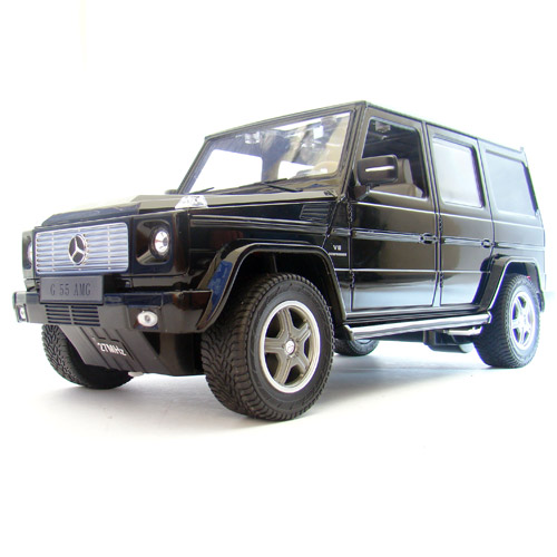 Черный Радиоуправляемый Mercedes G55 (Гелендваген, 1:14, 33 см)