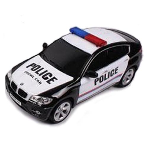 Черный Радиоуправляемая BMW X6 POLICE (1:14, 35 см)