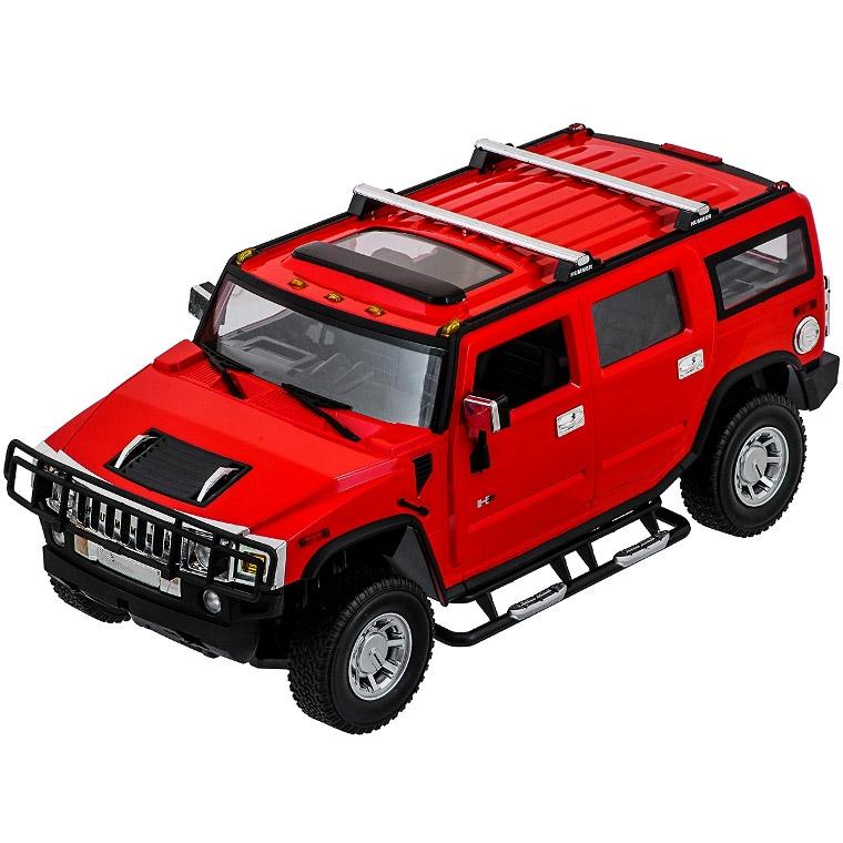 Красный Радиоуправляемый HUMMER H2 (1:14, 35 см)