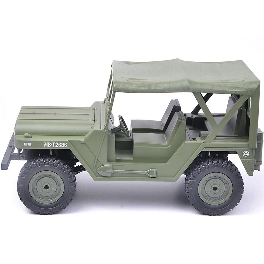 Зеленый Радиоуправляемый Jeep US M151 (4x4, 1:14, 33 см.)