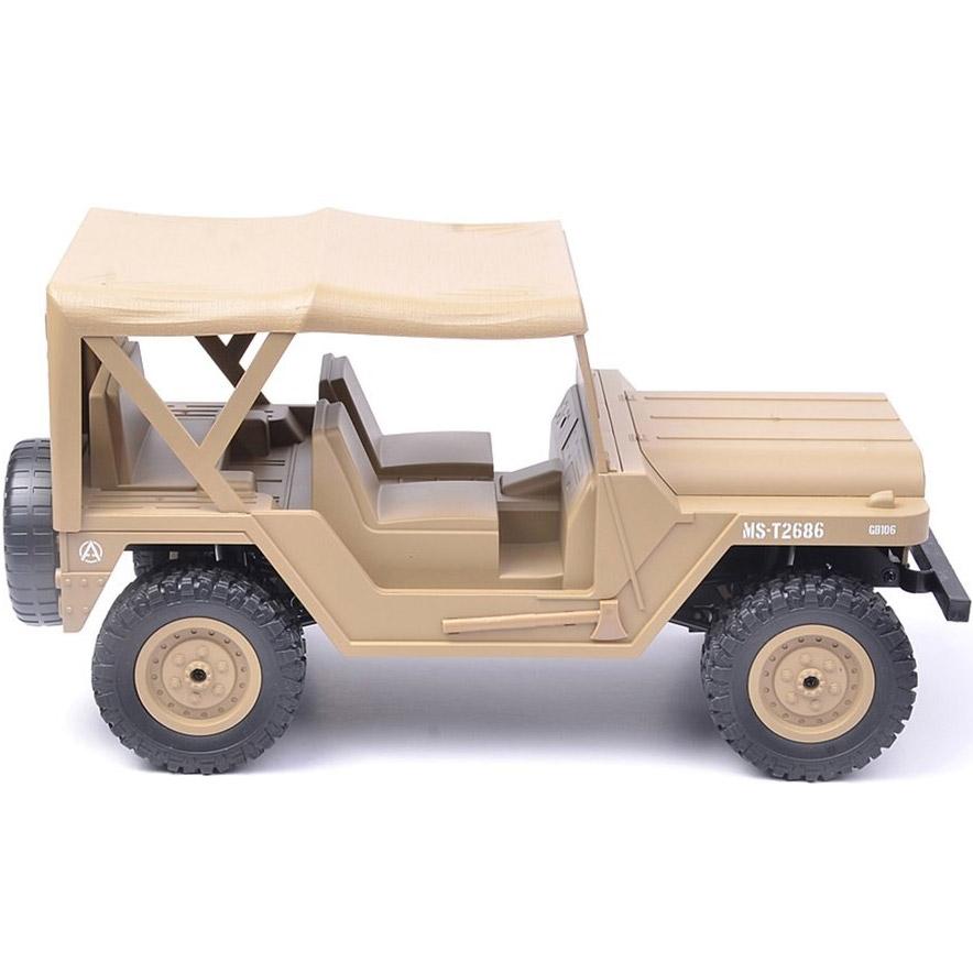 Песочный Радиоуправляемый Jeep US M151 (4x4, 1:14, 33 см.)
