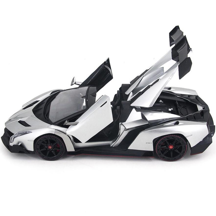 Радиоуправляемая Lamborghini Veneno Кабриолет (открываются двери и капот, 1:14, 34 см)