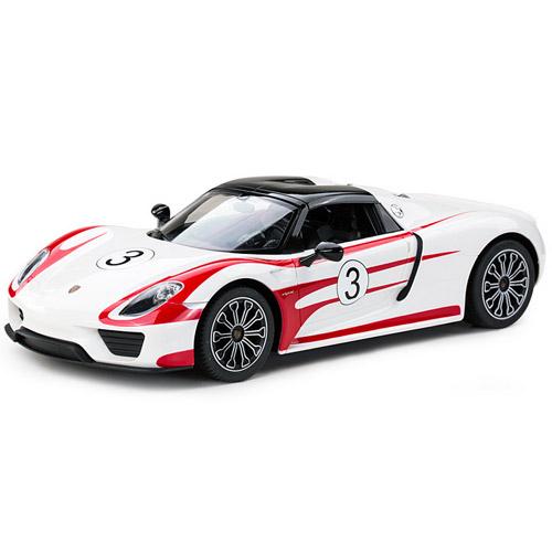 Белый Радиоуправляемый Porsche 918 Spyder (1:14, 32 см.)
